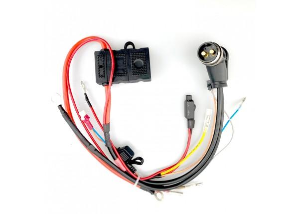 Kabelstrang 48V pos & neg, Lithium Akku Stecker für 24.0