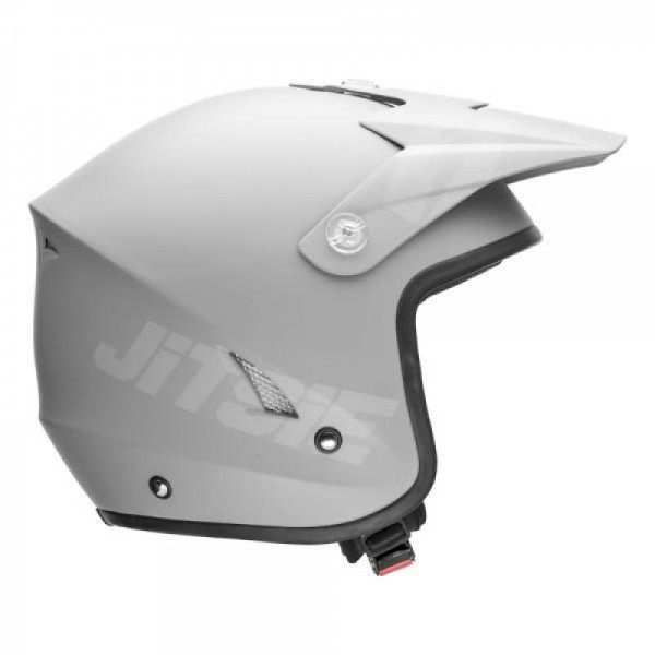 Jitsie Helm HT1 Solid - matt grey/grey