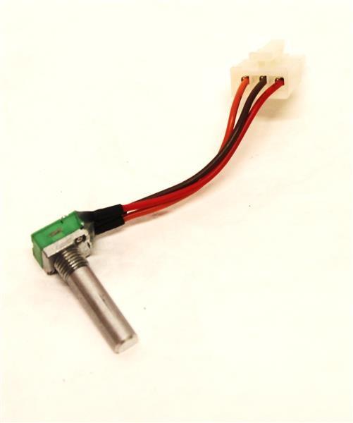 Potentiometer Gasannahme (grün) 20E 2Pot + 1 Schalter