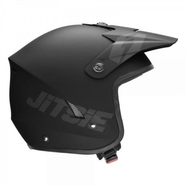 Jitsie Helm HT1 Solid - matt black/grey
