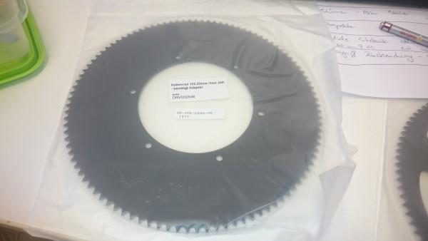 Kettenrad 102 Zähne Oset 24R - benötigt Adapter