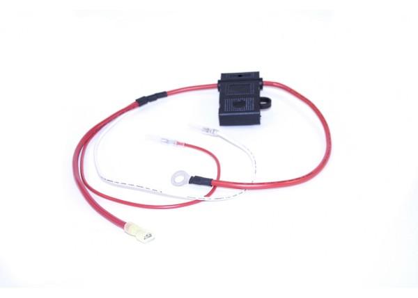 Kabelstrang 48V positiv mit Sicherungshalter für 20E,20R