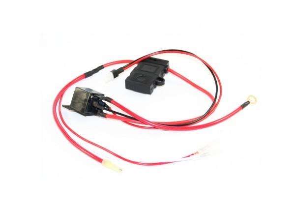Kabelstrang 36V positiv mit Relais für 16.0,20L